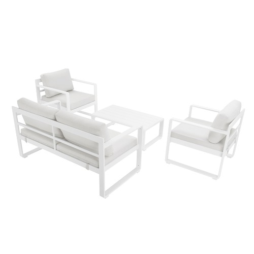 Temple & Webster 4 Seater Lennox Premium Outdoor Sofa Set
