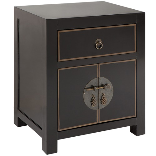 Temple & Webster Jasmine Luxe Bedside Table