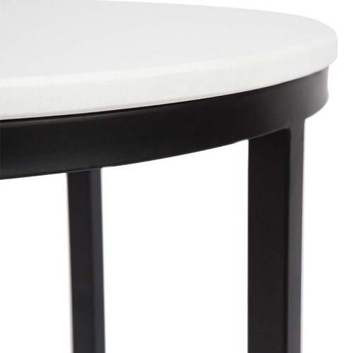 Temple & Webster Nolita Premium Stone Side Table