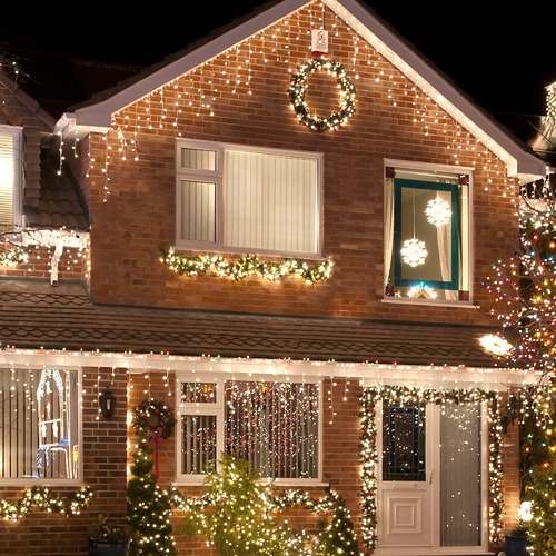 Temple & Webster 960 White LED Icicle Fairy Lights