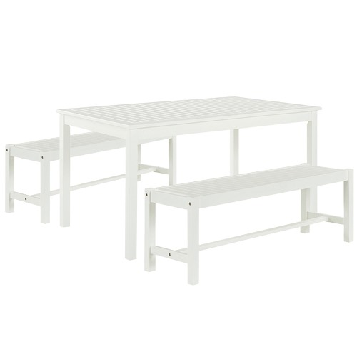 Temple & Webster 4 Seater Santa Cruz Outdoor Table & Bench Set