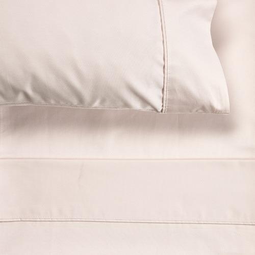 Temple & Webster Cream 1000TC Cotton Sheet Set