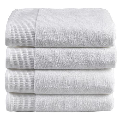 Temple & Webster 4 Piece Marle Bathroom Towel Set