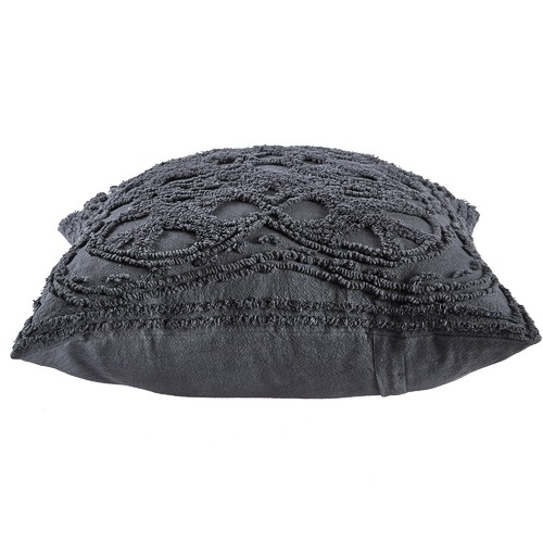Temple & Webster Charcoal Delilah Cushion