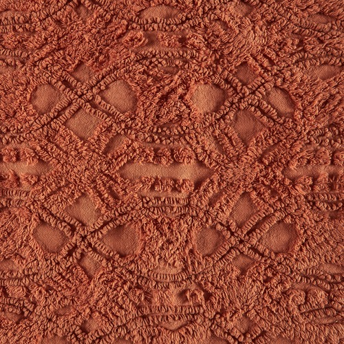 Temple & Webster Rust Delilah Cushion