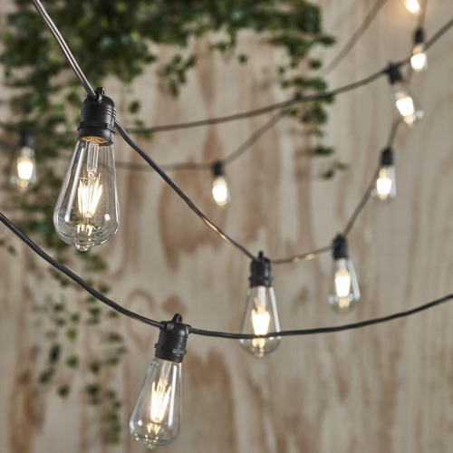 Temple & Webster LED Vintage Style Outdoor Festoon Lights