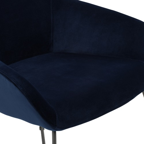 Temple & Webster Relax Velvet Accent Chair
