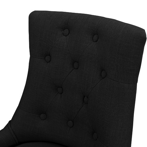 Black Windsor Scoop Back Dining Chairs
