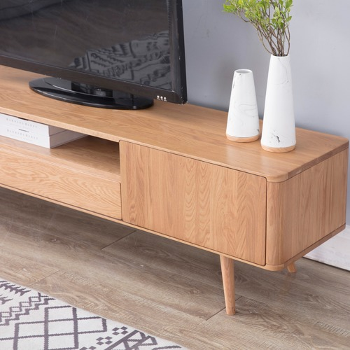 Temple & Webster Eden Oak 2m Large TV Unit