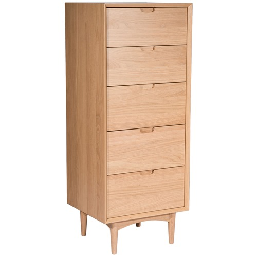 Temple & Webster Olsen 5 Drawer Tallboy