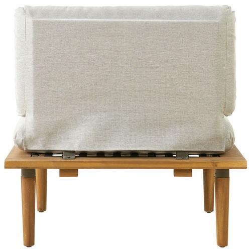 Temple & Webster 6 Seater Modular Cuba Outdoor Lounge & Table Set