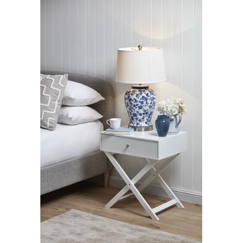 Temple & Webster Tessa Bird Ceramic Table Lamp