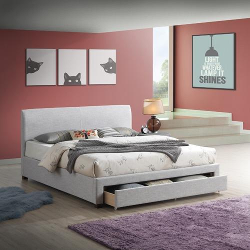 Temple & Webster Sophie Contemporary Upholstered Storage Bed Frame