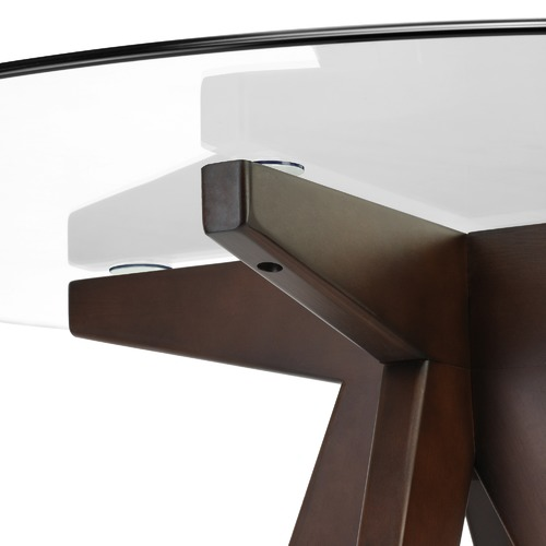 Temple & Webster 4 Seater Thea Dining Table & Wishbone Chairs Set