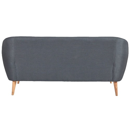 Temple & Webster Dark Grey Bryson 3 Seater Sofa