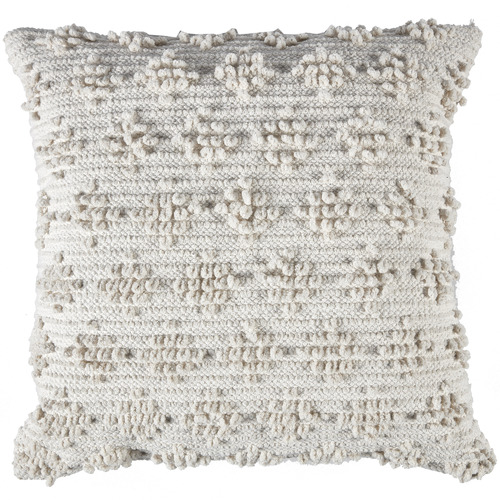 Temple & Webster Ivory Lottie Cotton Cushion