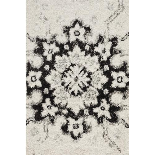 Temple & Webster Black & Cream Namibia Vintage-Style Rug