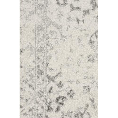 Temple & Webster Silver & Cream Vita Vintage-Style Rug