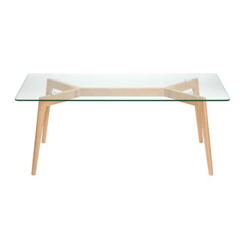 Stad Rectangular Glass Coffee Table