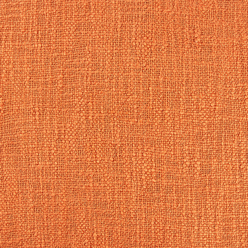 Temple & Webster Rust Square Cotton Cushion