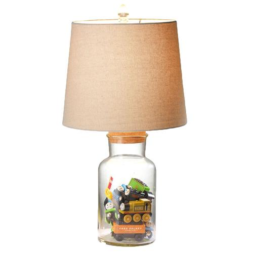 Temple & Webster Ellis Fillable Jar Table Lamp