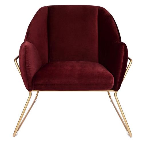 Temple & Webster Marco Luxe Velvet Armchair