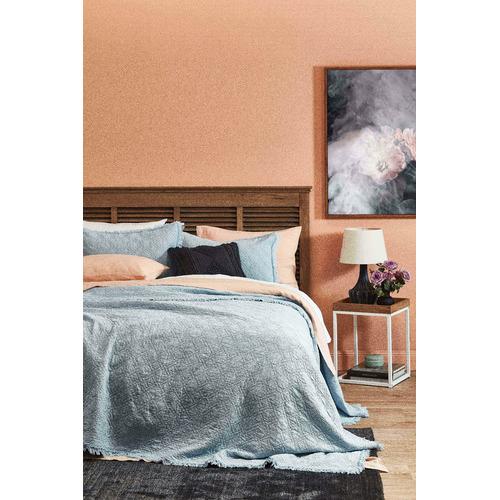 Temple & Webster Charcoal Lela Cotton Cushion