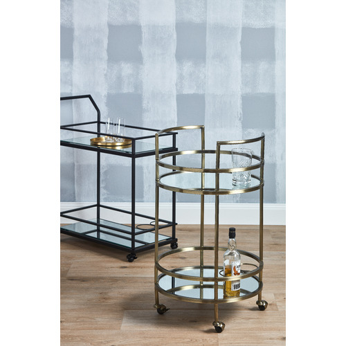 Temple & Webster Long Beach Bar Cart