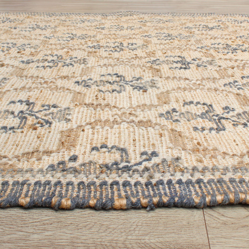 Temple & Webster Ashmore Hand-Woven Wool & Hemp Rug