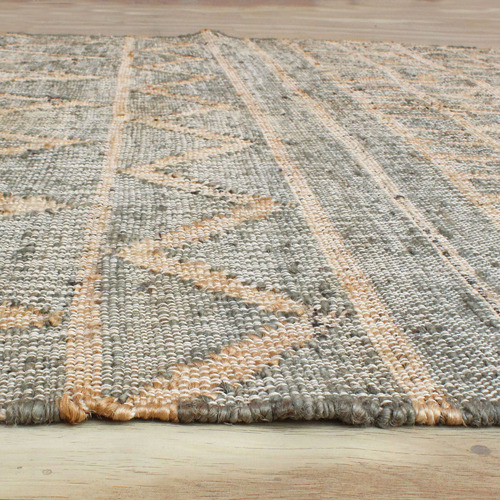 Temple & Webster Carter Hand-Woven Hemp Rug
