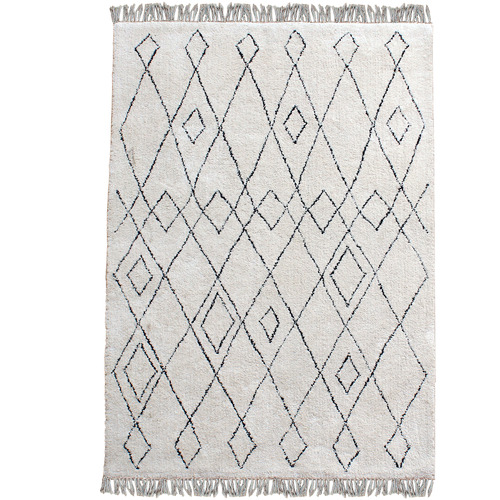Temple & Webster Echo Cotton Rug