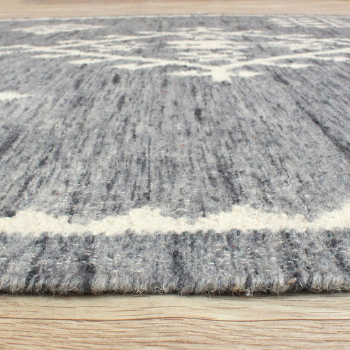 Temple & Webster Hazel Hand-Woven Wool Rug