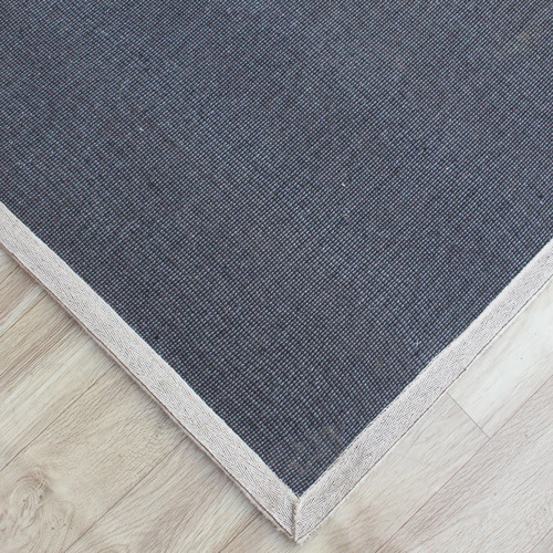 Temple & Webster Grey Mason Hand-Tufted Wool Rug