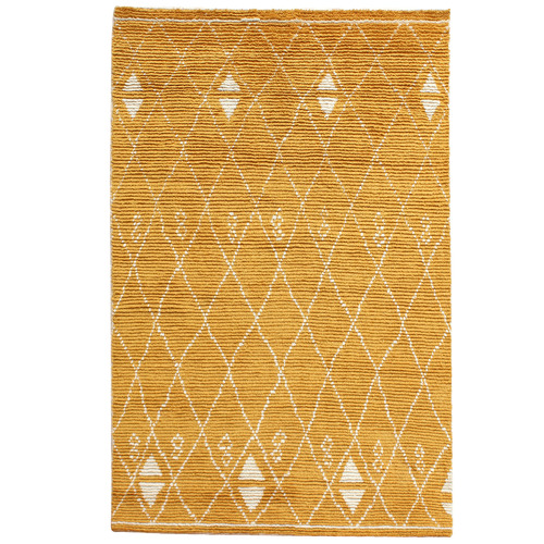 Temple & Webster Marigold Ostin Hand-Knotted Wool Rug