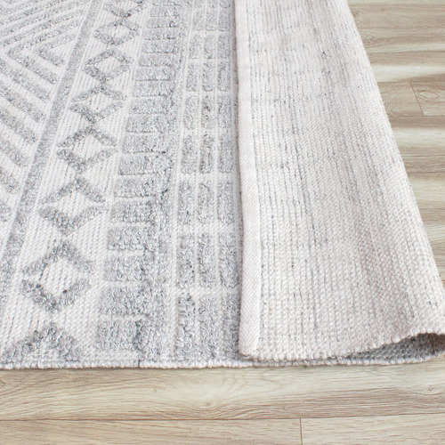 Temple & Webster Light Grey Triton Indoor/Outdoor Rug