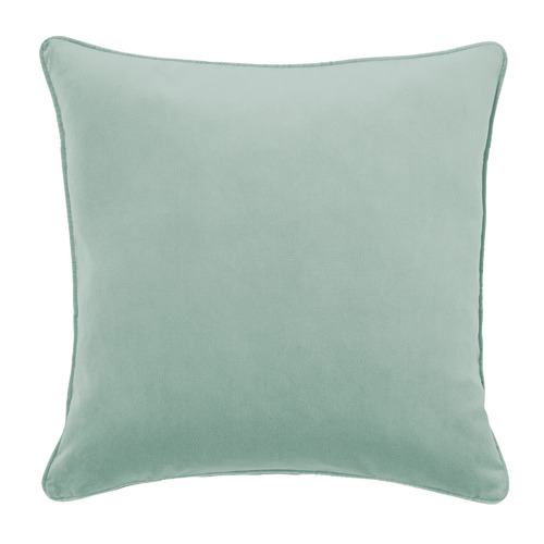 Temple & Webster Seafoam Malmo Soft Velvet Cushion