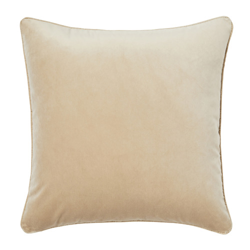 Temple & Webster Oyster Malmo Soft Velvet Cushion