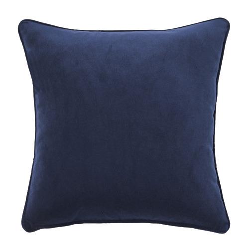 Temple & Webster Indigo Malmo Soft Velvet Cushion