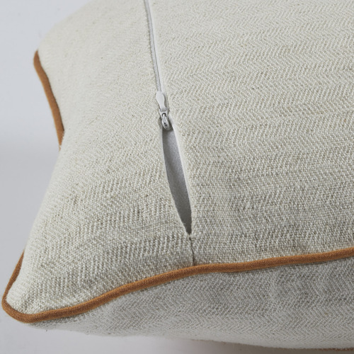 Temple & Webster Kayla Cotton-Blend Hand-Woven Cushion
