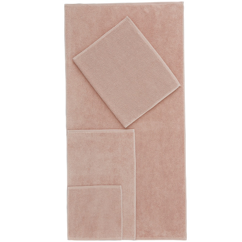 Temple & Webster Blush Willow 600GSM Turkish Cotton Towel Set