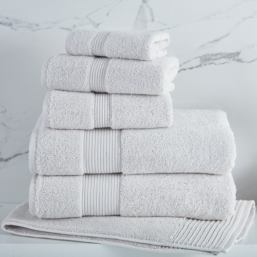 Temple & Webster Oatmeal Grand 800GSM Turkish Cotton Towel Set
