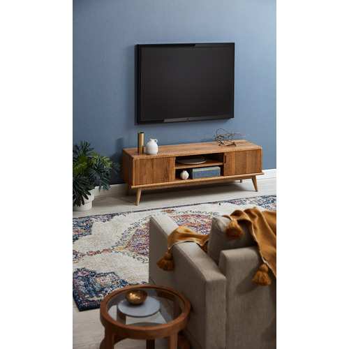 Temple & Webster Oscar Oak TV Unit