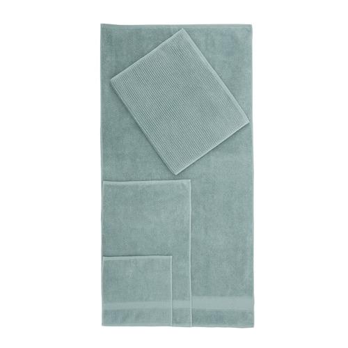Temple & Webster Seafoam Aspen 550GSM Turkish Cotton Towel Set