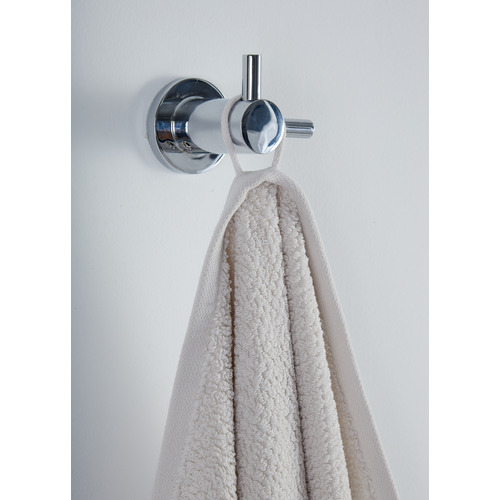 Temple & Webster Oatmeal Willow 600GSM Turkish Cotton Bath Towels