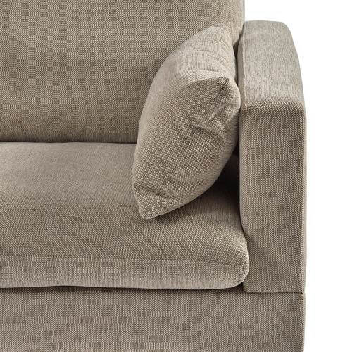 Temple & Webster Sand Silas 2 Seater Sofa