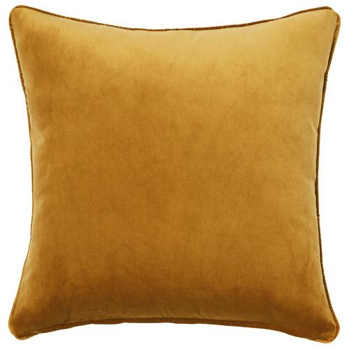 Temple & Webster Turmeric Malmo Soft Velvet Cushion