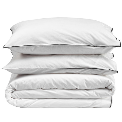 White Organic Cotton Quilt Cover Set