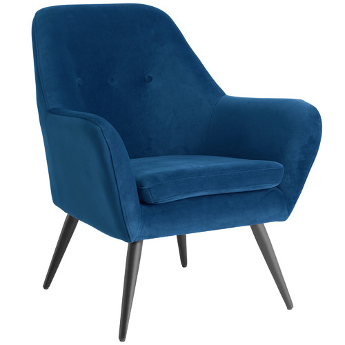 Temple & Webster Memphis Velvet Armchair