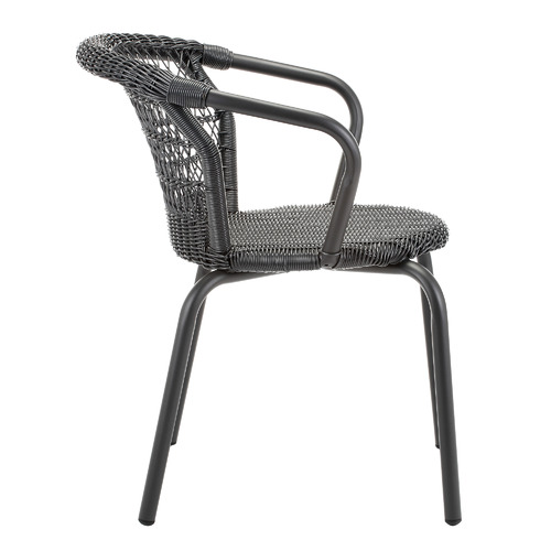 Temple & Webster Raffles PE Rattan Outdoor Dining Chairs