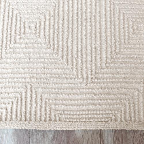 Ivory Mason Hand-Tufted Wool Rug
